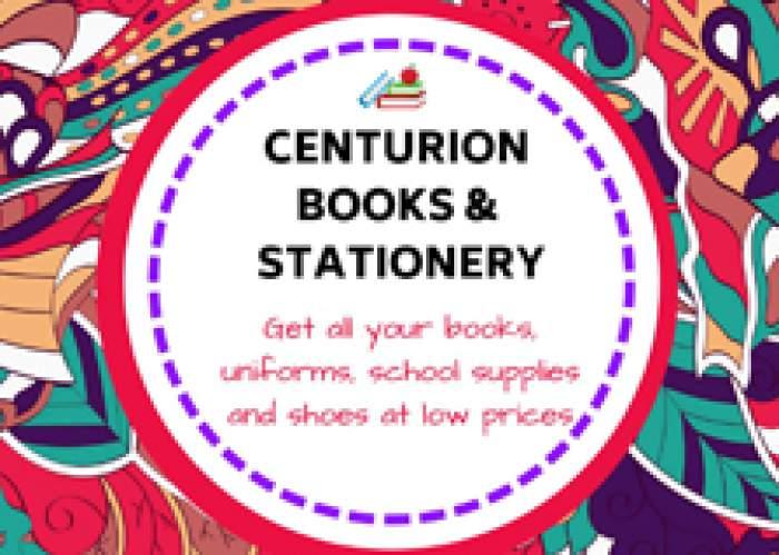 Centurion Books & Stationery logo