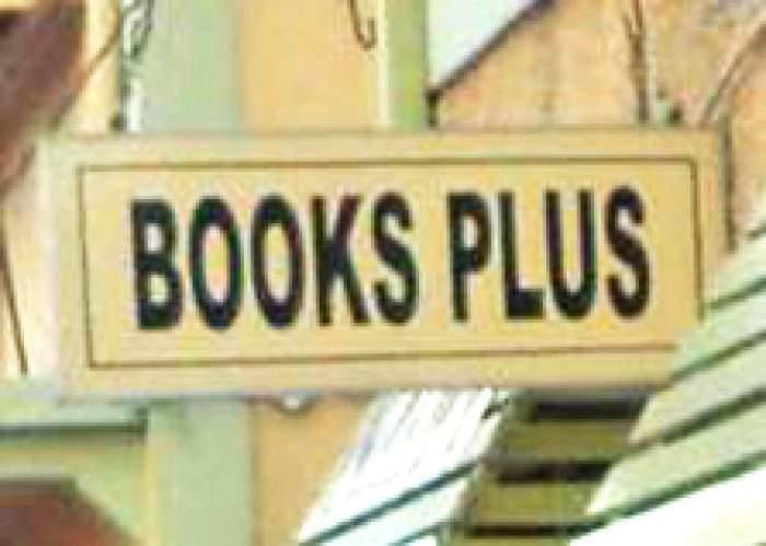 Books Plus logo
