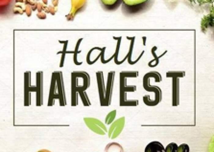 Hall's Harvest logo