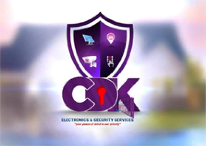 CDK Electronics and Security Service logo