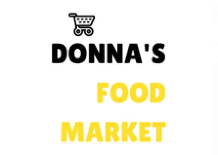 Donna's Food Market logo