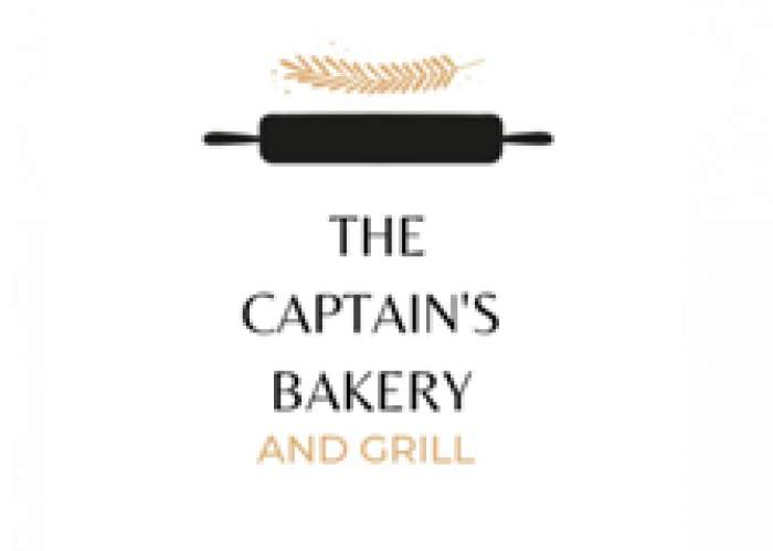 The Captains Bakery and Grill logo