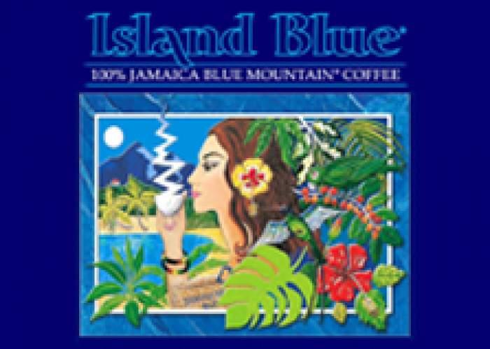 Island Blue Jamaica  logo