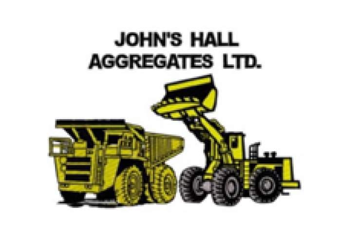 John's Hall Aggregrates logo