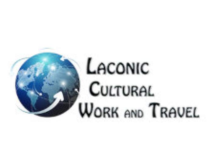 Laconic Cultural Work and Travel logo