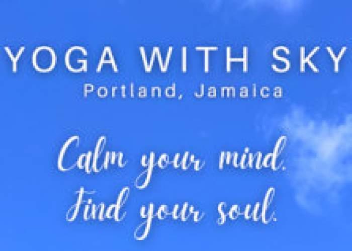 Yoga With Sky logo