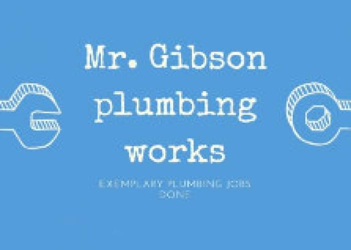 Mr. Gibson Plumbing logo