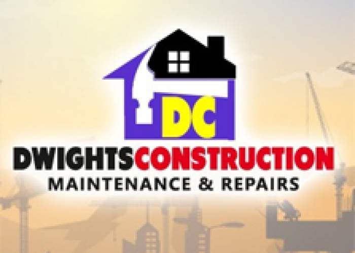 Dwight's construction logo