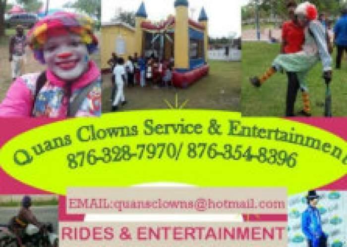 Quan's Clowns Service & Entertainment logo