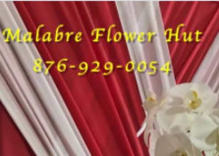 Malabre' Flower Hut logo