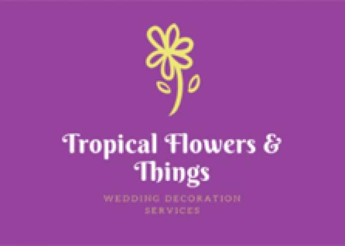 Tropical Flowers & Things logo