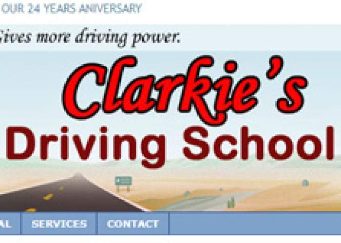 Clarkies Driving School logo
