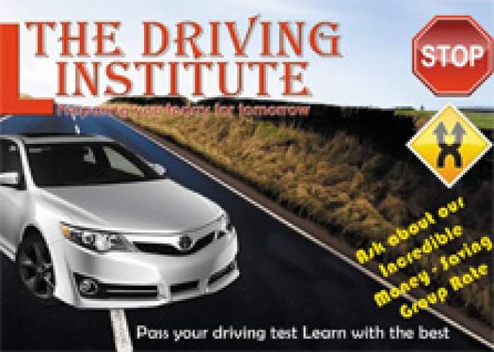 The Driving Institute logo