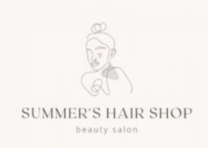 Summer's Hair Shop logo