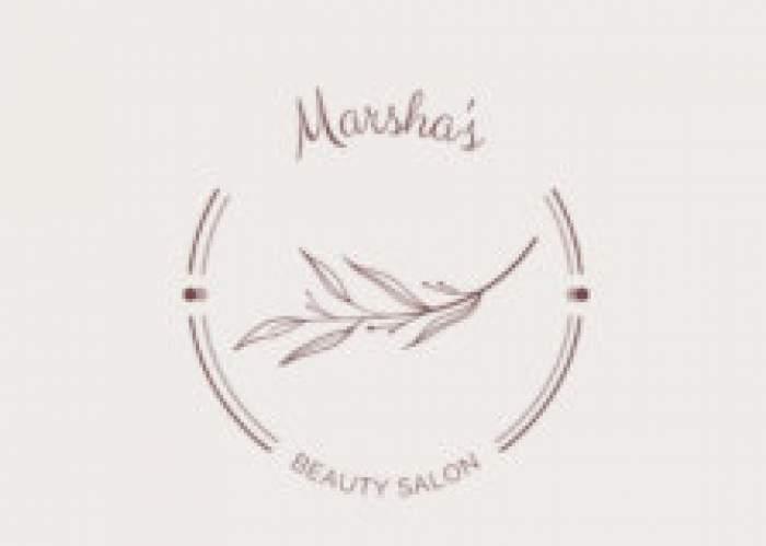 Marsha's Beauty Salon logo