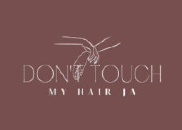 Don't Touch My Hair Ja logo
