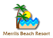 Merrils Beach Resort logo