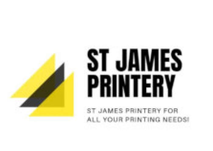 St James Printery logo