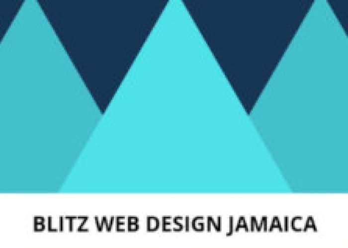 Blitz Web Design Jamaica logo