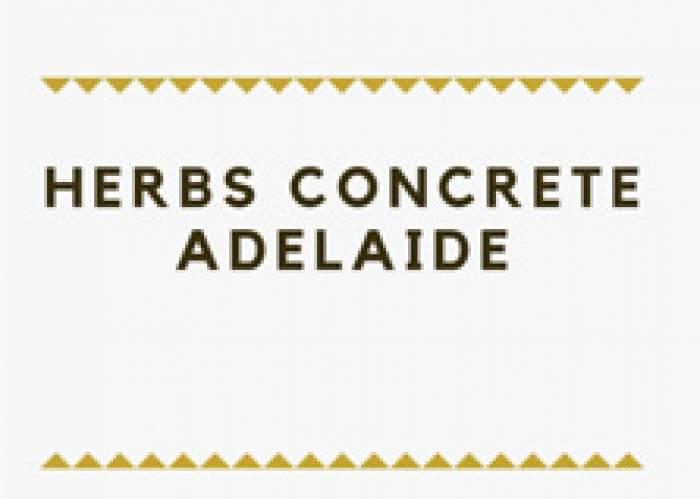 Herbs Concrete Adelaide logo