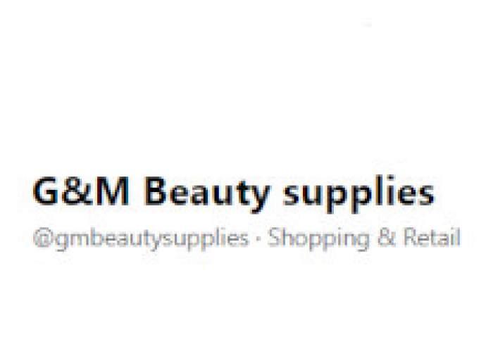 G&M Beauty supplies logo