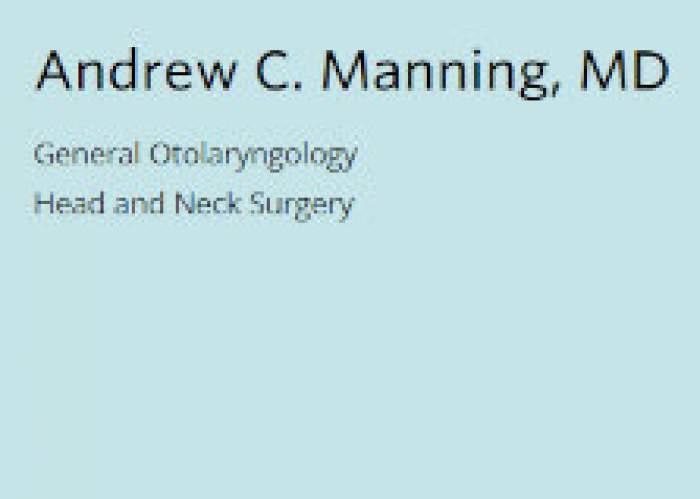 Dr. Andrew Manning logo
