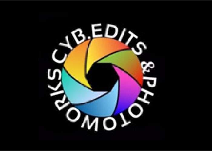Cyb Edits & Photoworks logo