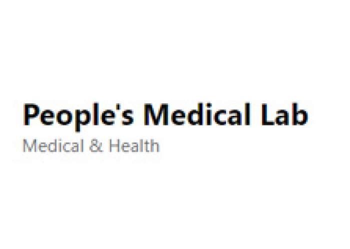 People's Medical Lab logo