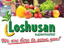 Loshusan Supermarket logo