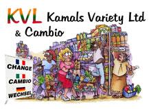 Kamal's Supermarket & Cambio logo